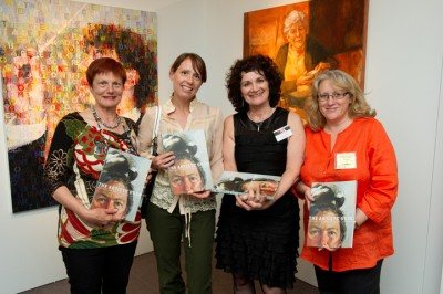 The Book Team - L-R Sally Robinson, Kathrin Longhurst, Janis Lander, Stephanie Brown, In Federal Parliament House, Canberra.