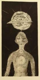 Primal Dream - intaglio etching ($400 Unframed)